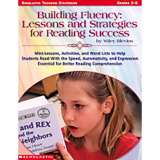 Scholastic Building Fluency Lessons And Strategies