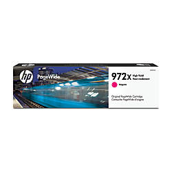 HP 972X High Yield Magenta Ink