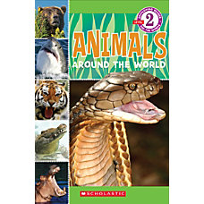 Scholastic Reader Level 2 Animals Around