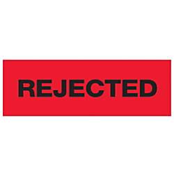 Tape Logic Rejected Preprinted Carton Sealing