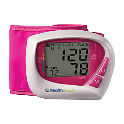 HealthSmart Automatic Wrist Blood Pressure Monitor