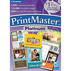 PrintMaster v6 Platinum Mac Download Version