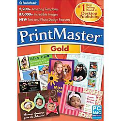 PrintMaster v6 Gold Download Version