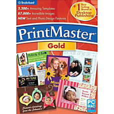 PrintMaster v6 Gold Download Version
