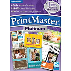 PrintMaster v6 Platinum Download Version