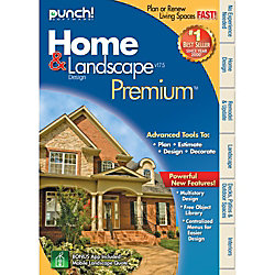 Punch Home And Landscape Design Premium V17 5 Download Version By Office Depot Officemax