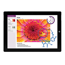 Microsoft Surface 3 Tablet With 108