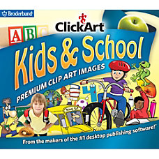 ClickArt Kids School Download Version