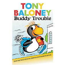 Scholastic Reader Tony Baloney Buddy Trouble