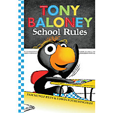 Scholastic Reader Tony Baloney School Rules