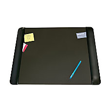 Artistic Matte Black Executive Desk Pad