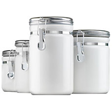 Anchor Ceramic Canister Set