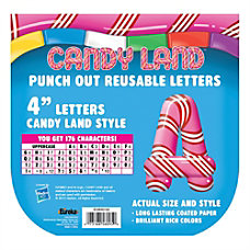 Eureka Reusable Punch Out Deco Letters