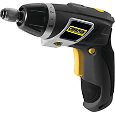Champion Powered Cordless Screwdriver