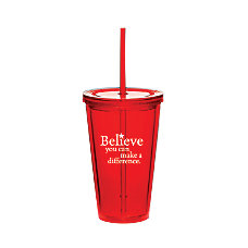 Believe Twist Top Tumbler Believe Difference