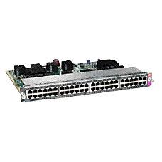 Cisco WS X4648 RJ45 E Line