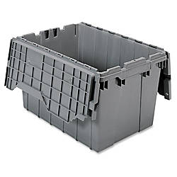 Akro Mils Attached Lid Container Internal