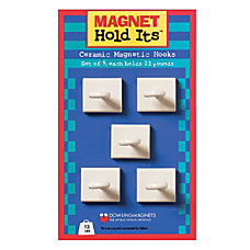 Dowling Magnets Magnetic Ceramic Ceiling Hooks