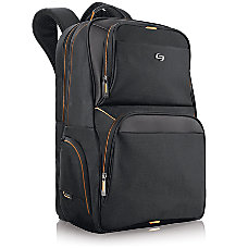 Solo Urban 173 Laptop Backpack BlackOrange