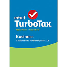 TurboTax Business 2015 Windows Download Version