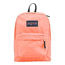 JanSport SuperBreak Backpack Coral Peaches