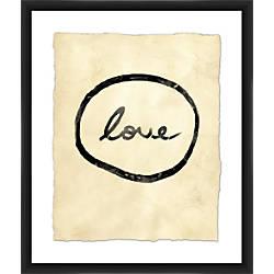 PTM Images Framed Wall Art Love
