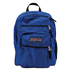 JanSport Big Student Backpack Blue Streak