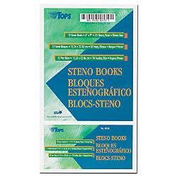 TOPS Steno Books 6 x 9