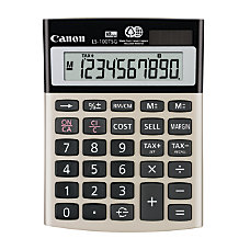 Canon LS 100TSG Desktop Mini Calculator