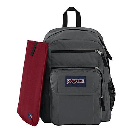 JanSport Digital Big Student Backpack For 15 Laptops Gray by ...