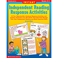 Scholastic Instant Independent Reading Response Activities