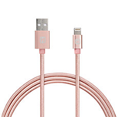 iHome Aluminum Lightning Cable With Nylon