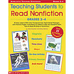 Scholastic Teaching Students To Read Nonfiction