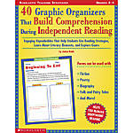 Scholastic 40 Graphic Organizers Build Comprehension