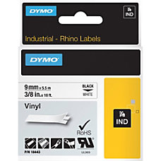 Dymo RhinoPro Industrial Label Tape Permanent