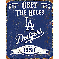 Party Animal Los Angeles Dodgers Embossed