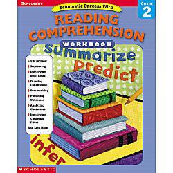 Scholastic Reading Comprehension Workbook Grade 2