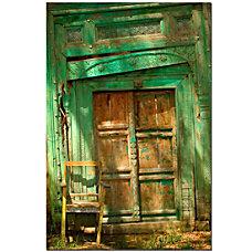 Trademark Global Temple Door Gallery Wrapped