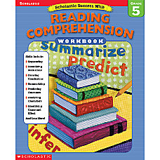 Scholastic Reading Comprehension Workbook Grade 5