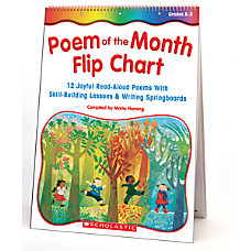 Scholastic Poem Of The Month Flip