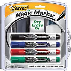 BIC Magic Marker Dry Erase Kit