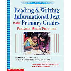 Scholastic Reading Writing Informational Text In