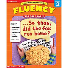 Scholastic Fluency Workbooks Grade 2