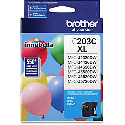 Brother Genuine Innobella LC203C High Yield