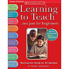 Scholastic Learning To Teach 3rd Edition