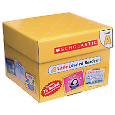 Scholastic Little Leveled Readers Box Set