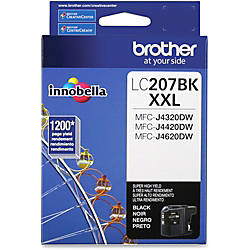 Brother Genuine LC207BK Super High Yield