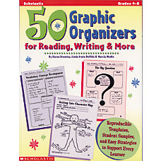 Scholastic 50 Graphics Organizers For Reading