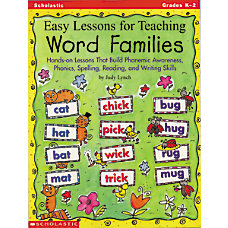 Scholastic Easy Lessons For Teaching Word