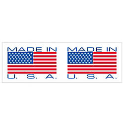 Tape Logic Made In USA Preprinted